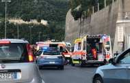 Molassana - Incidente in via Adamoli, ferita una donna