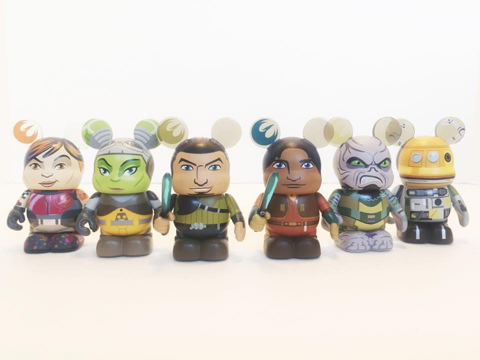 Rebels Vinylmation Crew