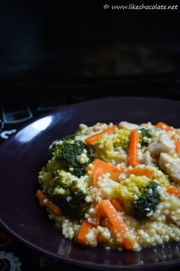 Proso s piletinom i povrcem (1)