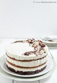 kokos čoko mousse torta (6)