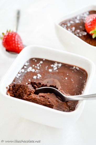 Pečena čokoladna krema (5)