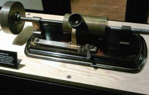 Edison original phonograph