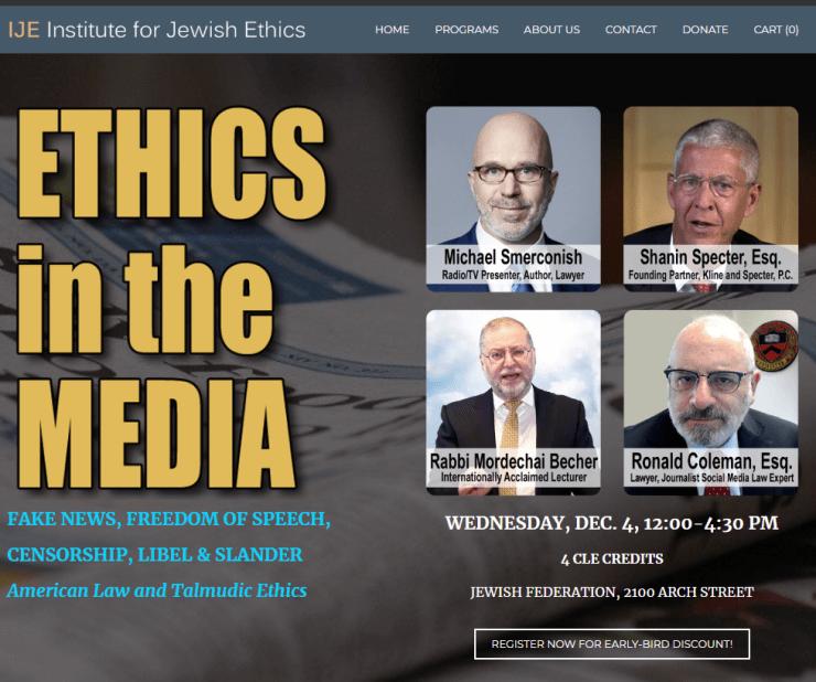 Institute for Jewish Ethics