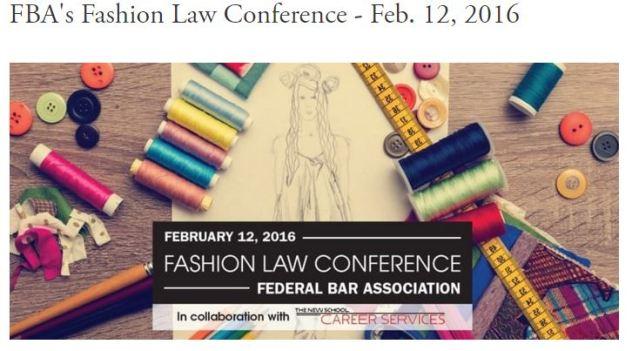Fashion Law Conference 2016 via Medenica Law