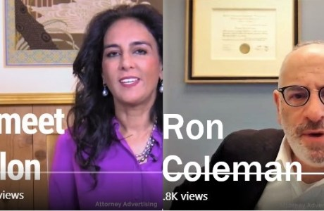 Harmeet Dhillon and Ron Coleman