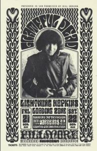 Young Jerry Garcia - Grateful Dead Poster