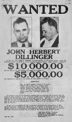 wanted-dillinger