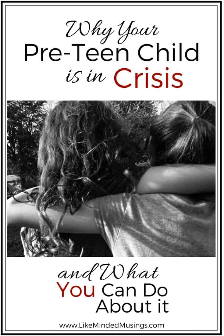 Why Your Pre-Teen Child Is In Crisis And What You Can Do About It