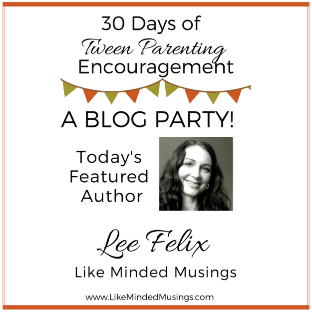 Tween Parenting Blog Party Author Box Lee Felix Like Minded Musings