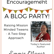 Tween Parenting Blog Party Featured Author Emmie Manor Like Minded Musings