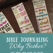 Bible Journaling Why and How to Begin as a Non Artist