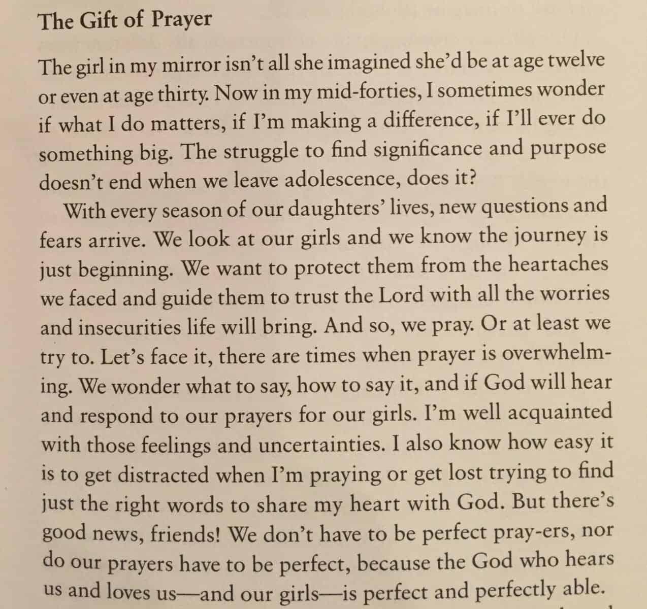Prayers for Girls Teri Lynne Underwood Like Minded Musings