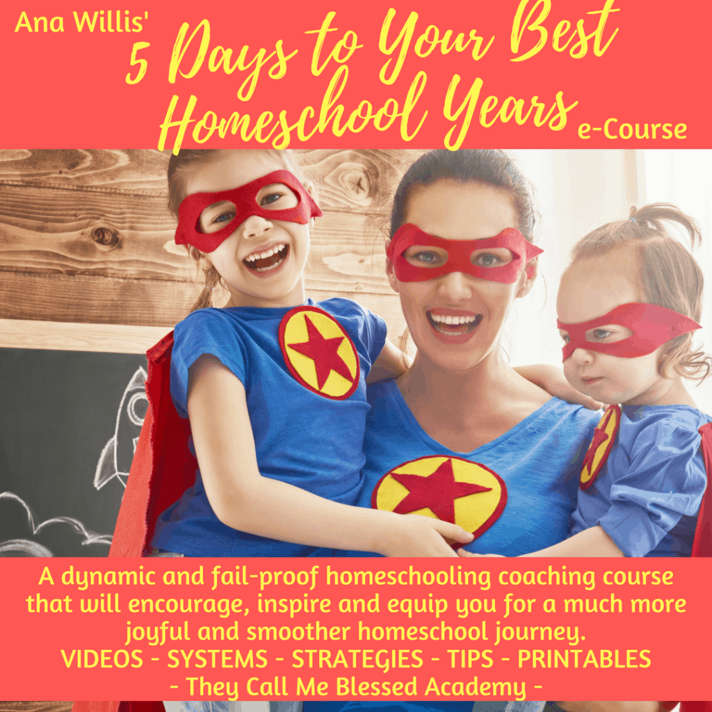 5-Days-To-Your-Best-Homeschool-Years-e-course Like Minded Musings