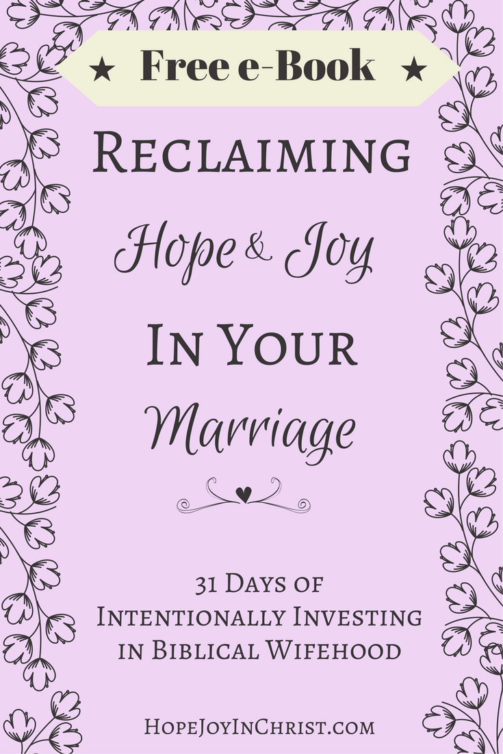 Reclaiming Hope & Joy In Your Marriage Like Minded Musings
