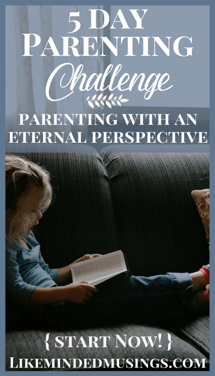 5 Day Parenting Challenge Pins Like Minded Musings