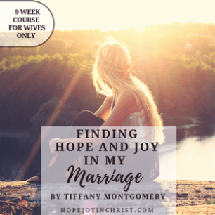 Finding Hope and Joy in My Marriage