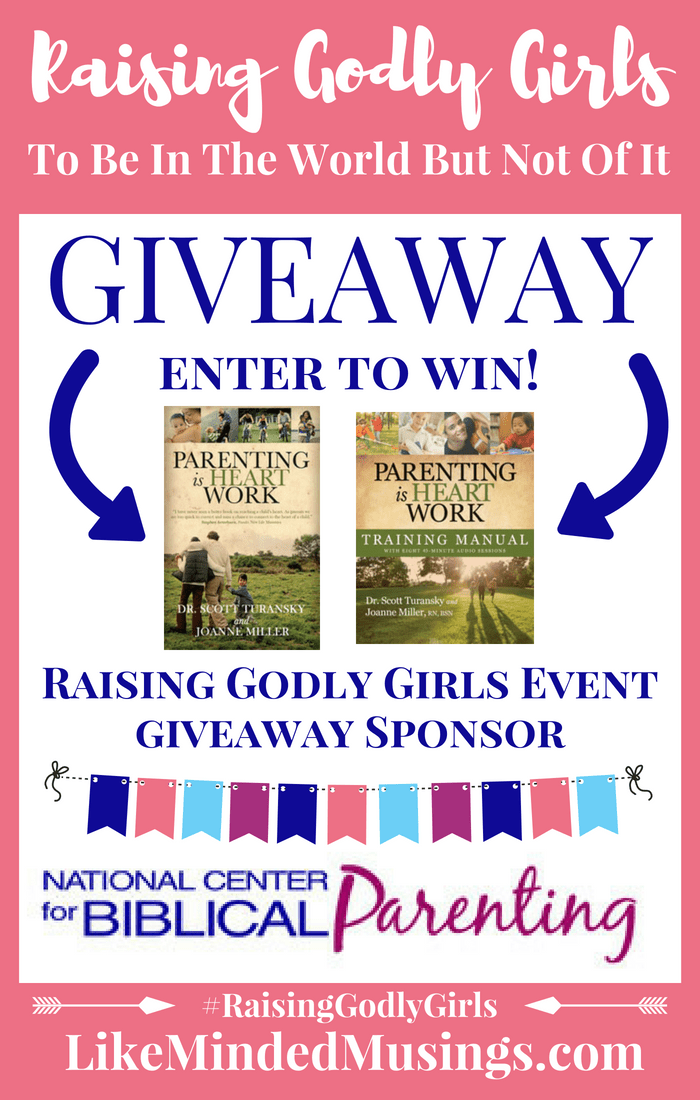 Giveaway National Center of Biblical Parenting Like Minded Musings