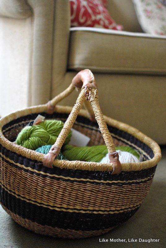 Knitting ~ Like Mother Like Daughter