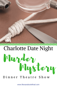 Have a date night full of shenanigans with a Murder Mystery Dinner Theatre show.