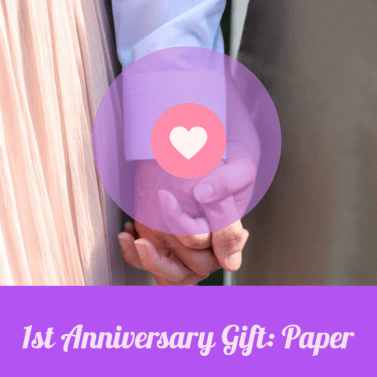Our super cute first anniversary gift is a cheap and easy present, but will be a treasure for many years to come.
