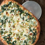 http://peasandcrayons.com/2015/03/three-cheese-pesto-spinach-flatbread-pizza.html