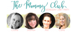 The Mommy Club Link-up is a link party for recipes, parenting tips, crafts and ideas.