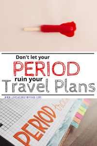 Periods can really put a damper on your travel plans...but they don't have to anymore! Get yourself a menstrual cup, ladies.