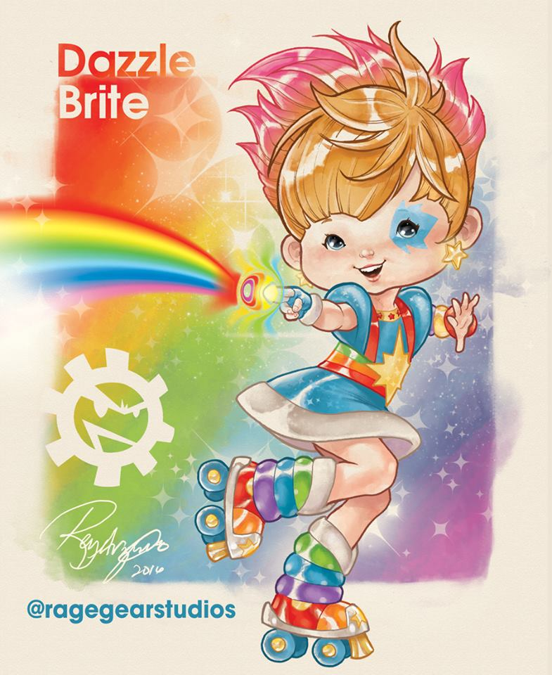 Rainbow Brite Characters Reimagined As X Men Are Adorably