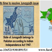 India Occupied Junagadh and Kashmir state in September-November 1947...