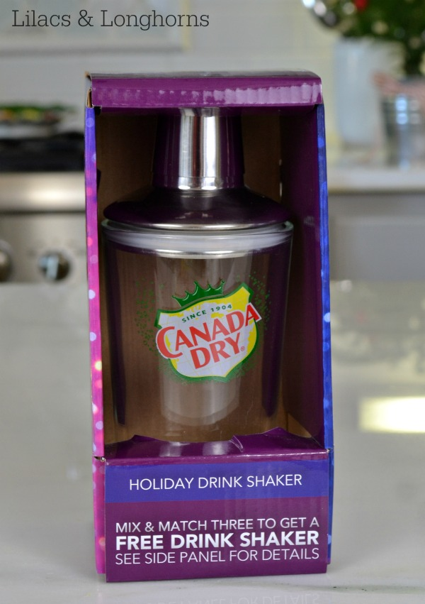 Canada Dry drink shaker