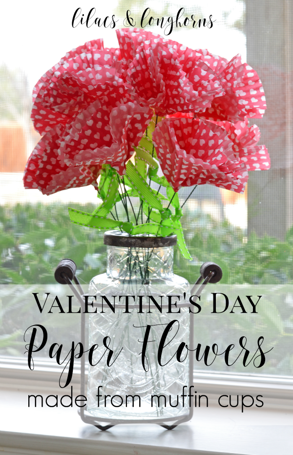 Valentine S Day Paper Flowers Craft Lilacs And Longhornslilacs And