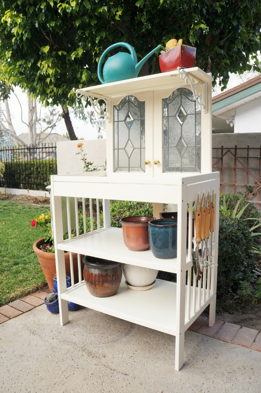 Repurposed-Changing-Table-to-Potting-Bench