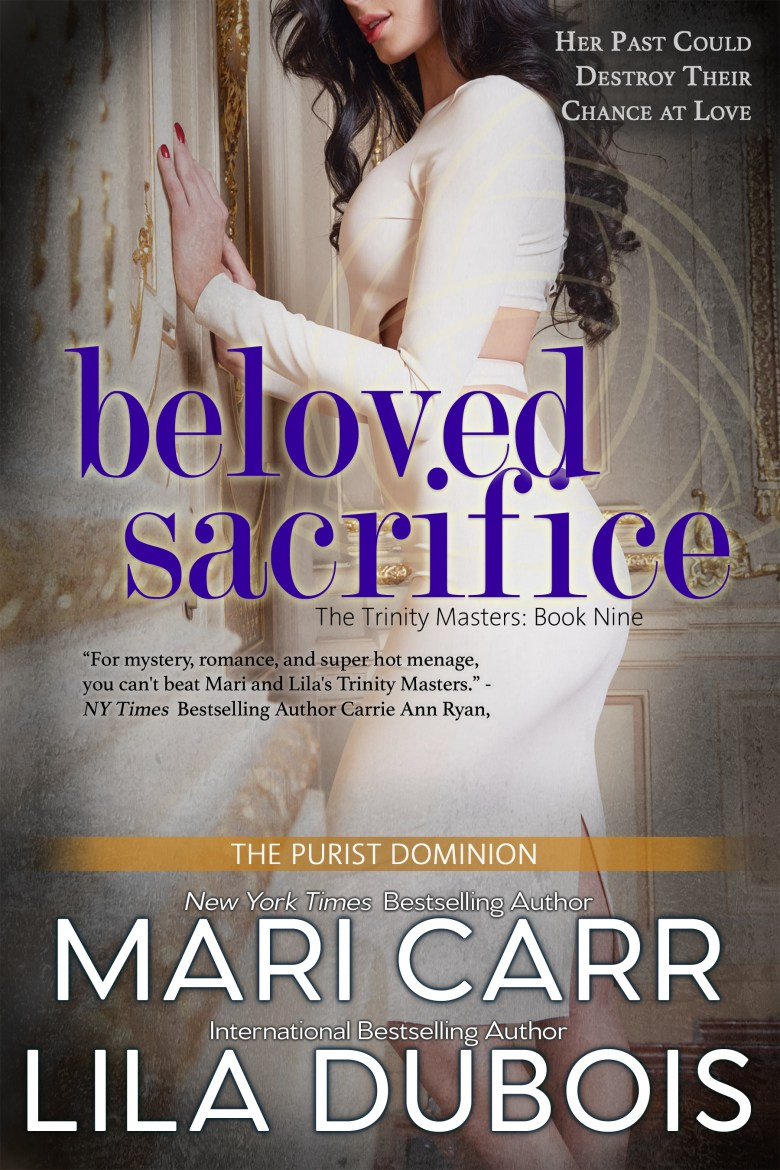 Cover for Beloved Sacrifice (Trinity Masters, Book Nine)