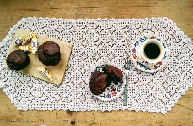 schoko-Karamel Muffins