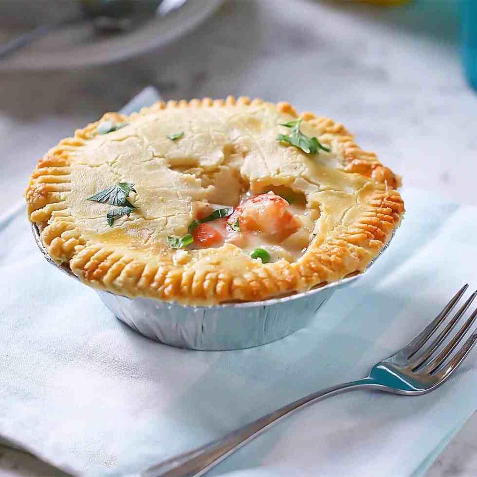 GF Seafood Pot Pie