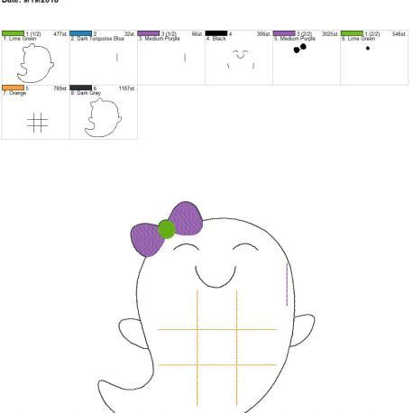 Girly ghost TTT 8×12