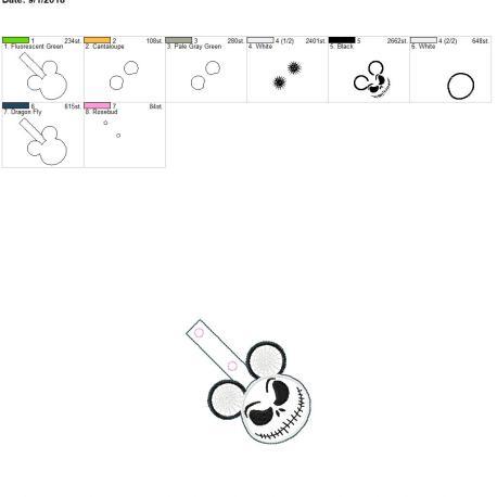 Jack-Mouse-Satin-Fob