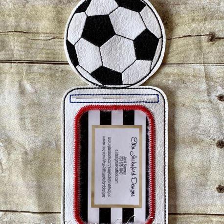 Soccer holder