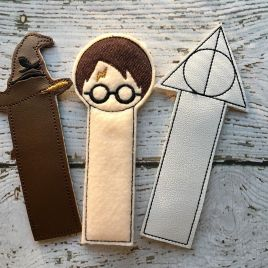 ITH – Wizard Bookmark  Set 4×4 and 5×7 Grouped
