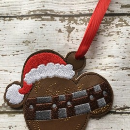 ITH – Chewy Mouse Ornament 4×4