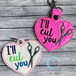 ITH – Hair Stylist – I'll Cut You- Fobs 4×4 and 5×7 Grouped
