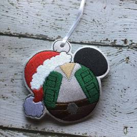 ITH – Han Mouse Ornament 4×4 and 5×7 Grouped