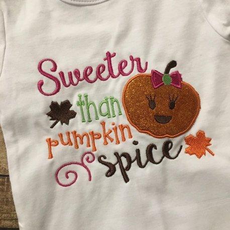 sweeter than pumpkin spice