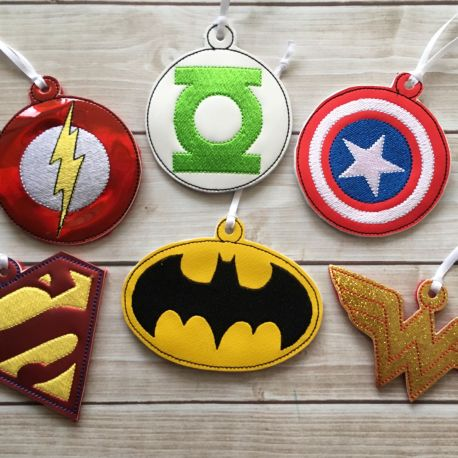 hero ornament set