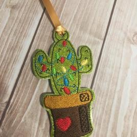 ITH – Cactus Ornament 4×4 and 5×7 Grouped