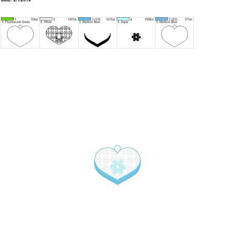 Valentine Ice Queen eyelet 4×4