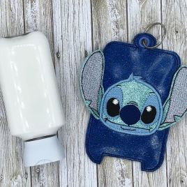 ITH 3D Blue Alien Hand Lotion Holder 5×7 included- DIGITAL Embroidery DESIGN
