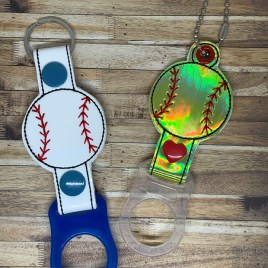 ITH Baseball/Softball Water Bottle Holders – 4×4 and 5×7 – DIGITAL Embroidery DESIGN