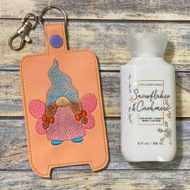 ITH Fairy Gnome Hand Lotion Holder 5×7 included- DIGITAL Embroidery DESIGN