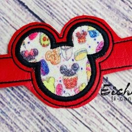ITH Mask Extender Mouse Applique – 2 sizes – DIGITAL Embroidery DESIGN